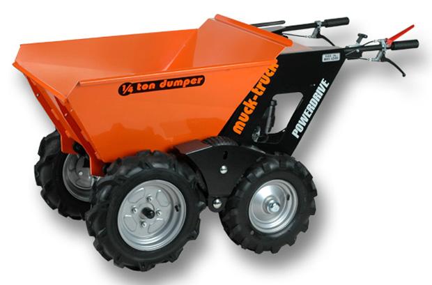 Muck truck mini dumper for Motorized wheelbarrows for sale