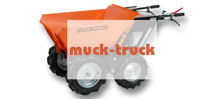 muck-truck motorized wheelbarrows-newmarket-dealer