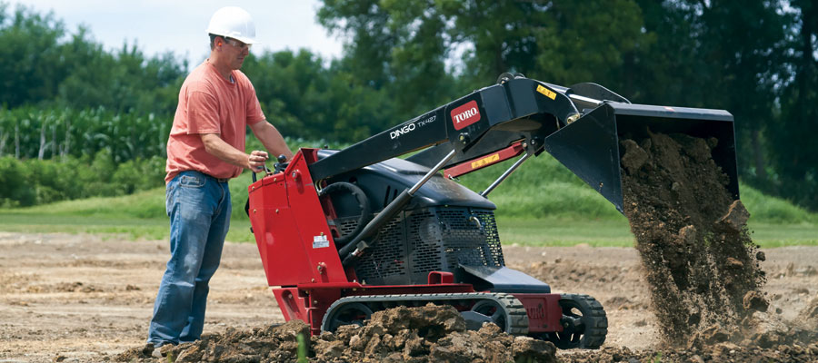 Toro Dingo® Compact Utility Loaders - Newmarket Mower