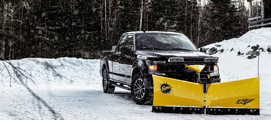 Fisher snow plows available at Newmarket Mower Power Equipment Service and Parts